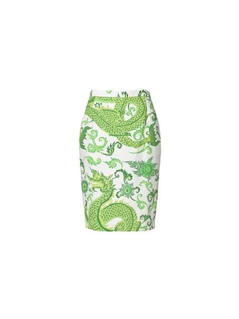Locise printed skirt