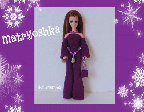 Topper DAWN Doll CLOTHES  Matryoshka Nesting Doll by DOLLS4EMMA