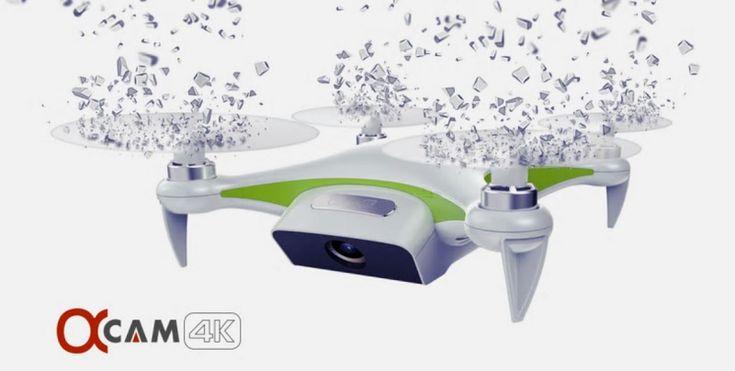 Alpha Cam - 4K UHD selfie drone