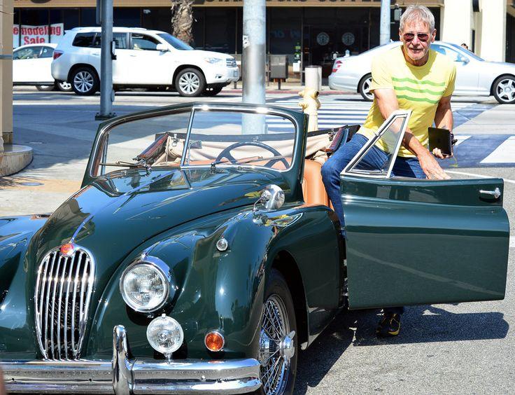 harrison ford and his 1954 jaguar xk140 car stuff pinterest harrison ford september and. Black Bedroom Furniture Sets. Home Design Ideas