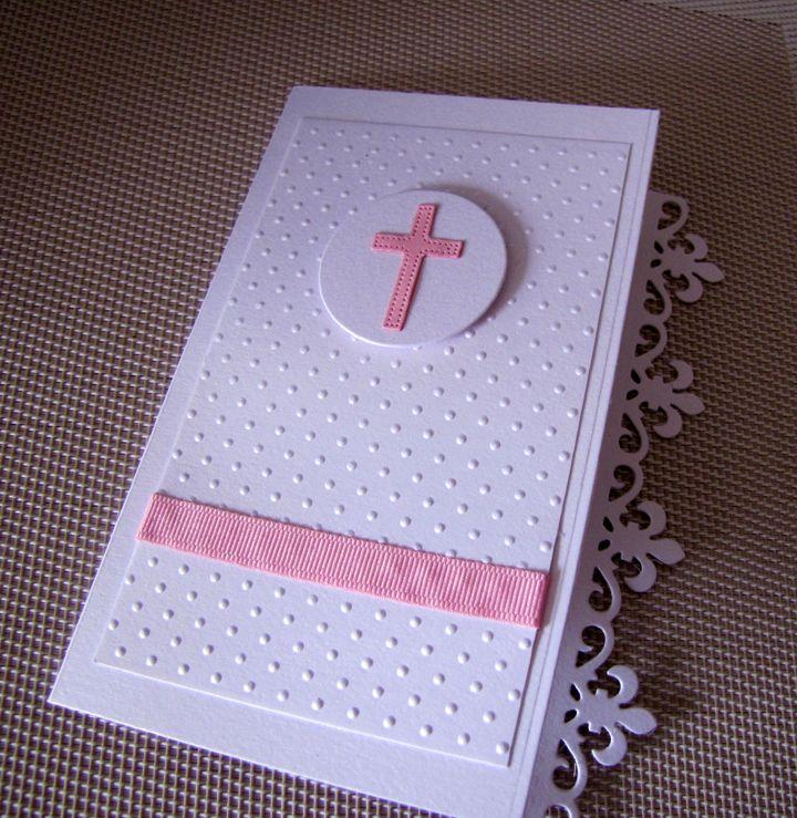 free online christening invitation making%0A cruz rosada    CommunionChristeningInvitationMarriage