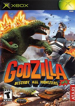 Godzilla - Destroy All Monsters Melee Coverart (+Nintendo GameCube+) http://en.wikipedia.org/wiki/Godzilla:_Destroy_All_Monsters_Melee