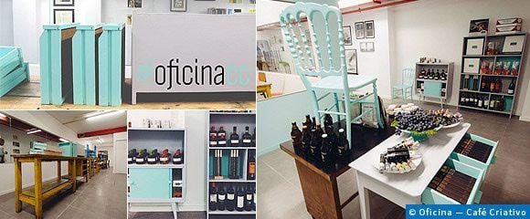 VerPortugal - OficinaCC: apreciar arte enquanto se reciclam móveis e se bebe um café