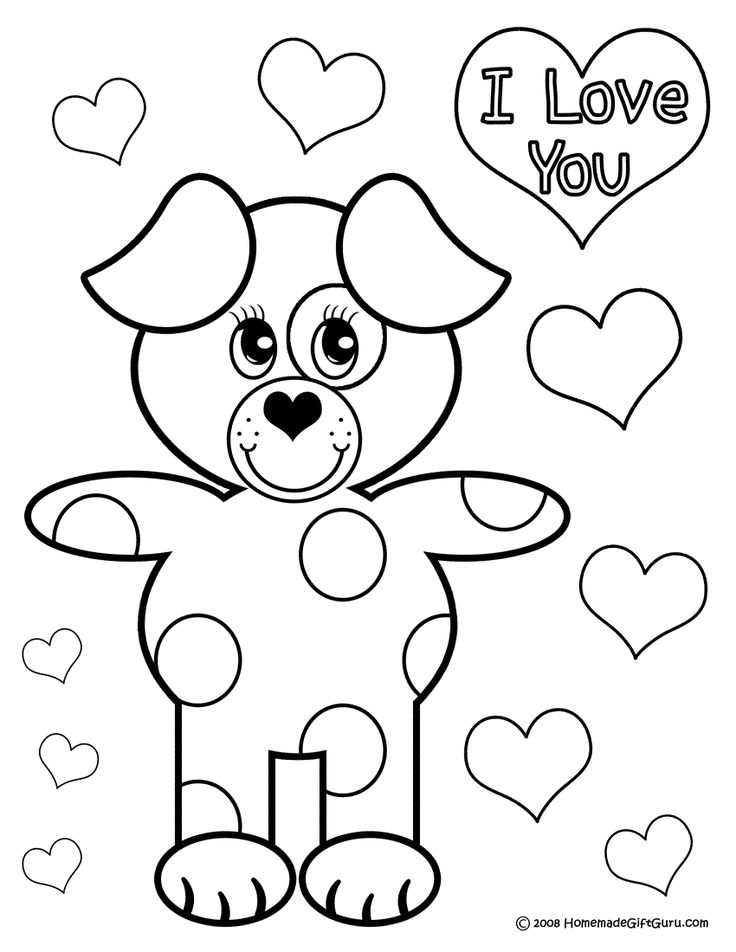 just like puppy love this puppy coloring page is warm and fuzzy