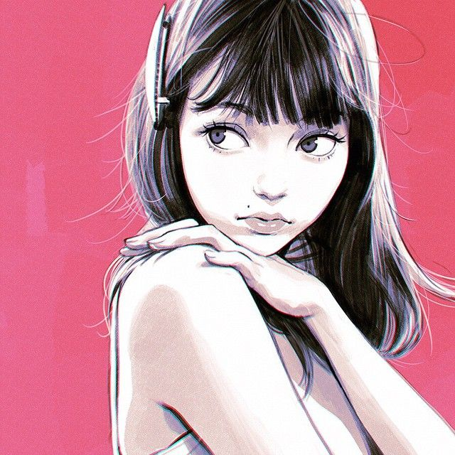 Anime Characters 165 Cm : Best images about ilya kuvshinov on pinterest