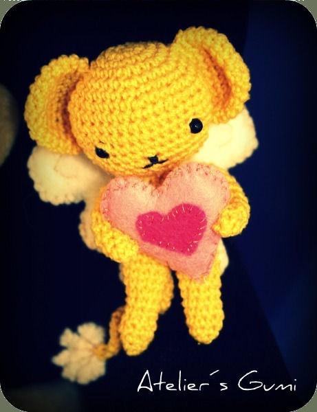 Kero 7cm  Amigurumi Crochet Plush Dolls by AteliersGumi on Etsy, $12.00: Plush Dolls