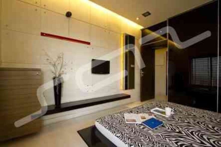 2bhk apartment design by sarfraz shaikh interior designer for 1 bhk room interior design ideas