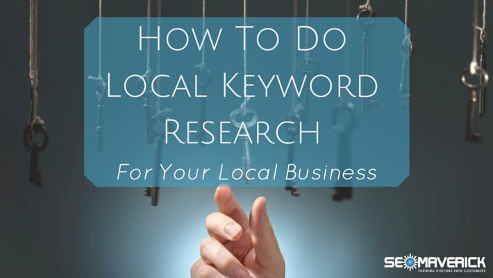 How to Do Local Keyword Research by SEO Maverick #localseo
