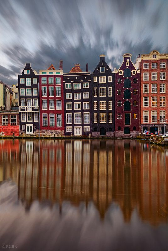 Cool photoshop of old Amsterdam, the 'city of rivers'
