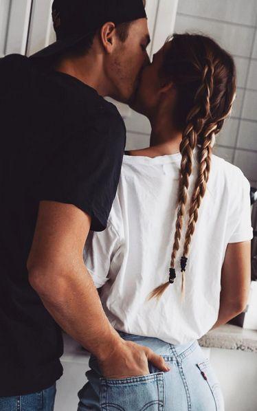 Kitchen kisses