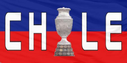 Chile flag 2016 Copa America Centenario