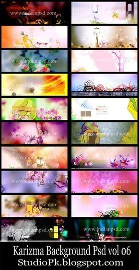 Creation Indian Wedding Karizma Background Vol 06 ~ StudioPk