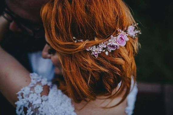 Check out this item in my Etsy shop https://www.etsy.com/listing/551086262/flower-wedding-hair-vine-hair