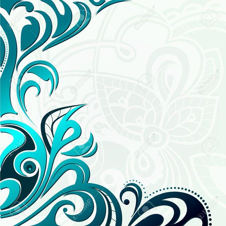 Resumen De Antecedentes De Encaje Floral Ilustraciones Vectoriales, Clip Art Vectorizado Libre De Derechos. Pic 10488427.