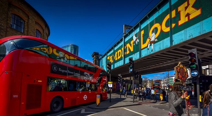Camden Town é local mais visitado da capital inglesa depois do palácio de Buckingham