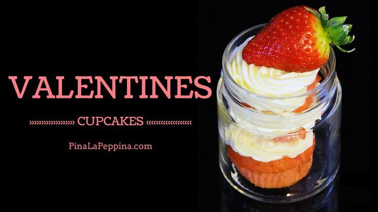 Ricetta #Cupcakes per San Valentino in Barattolo #Valentine #Valentino #cake #muffin #VideoRicetta #Ricetta #Jar #RedVelvet #Red