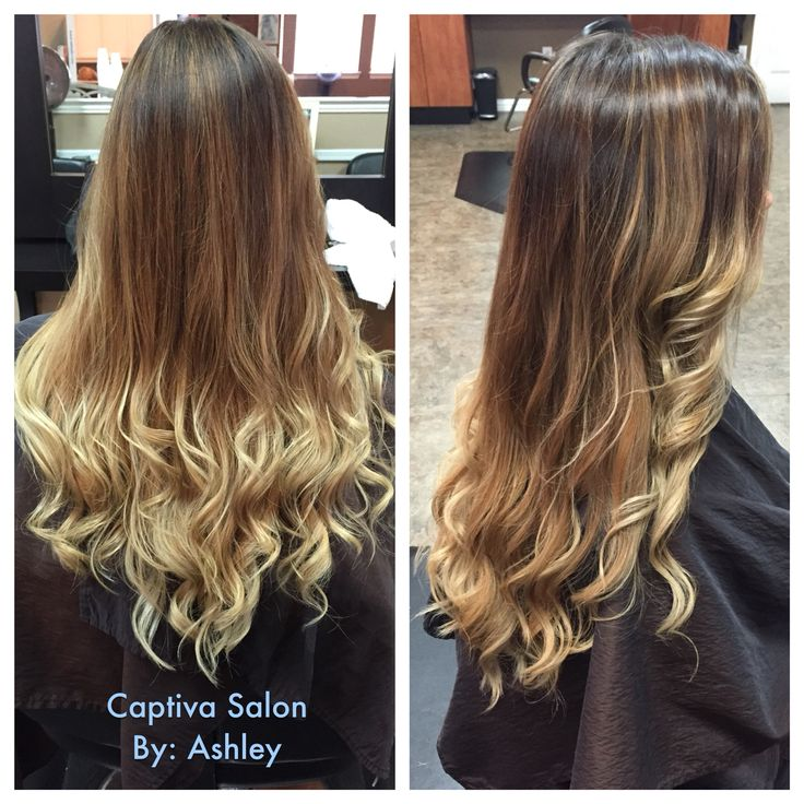 new hair trend that resembles the look of tortoise shell — it's called Ecaille. Currently trending in Paris, you can recognize the trend by darker roots and lighter ends, but with a mix of balayage highlights throughout. Balayage and Ombré   Ashley @ Captiva salon  940-566-1999  Denton tx