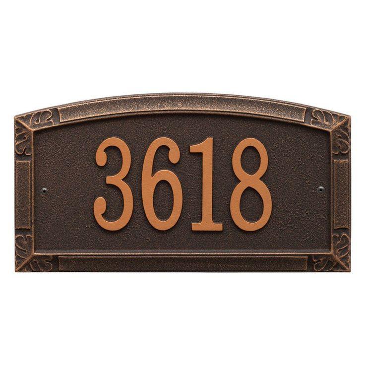 43 best bag end images on pinterest address plaque for Location plaque garage
