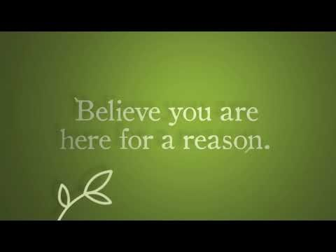 Believe - Be encouraged, renew your confidence, celebrate fresh starts and new beginnings!