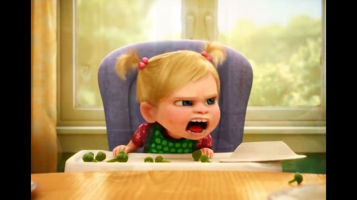 Inside Out - Riley's Anger and joy Funny Parts