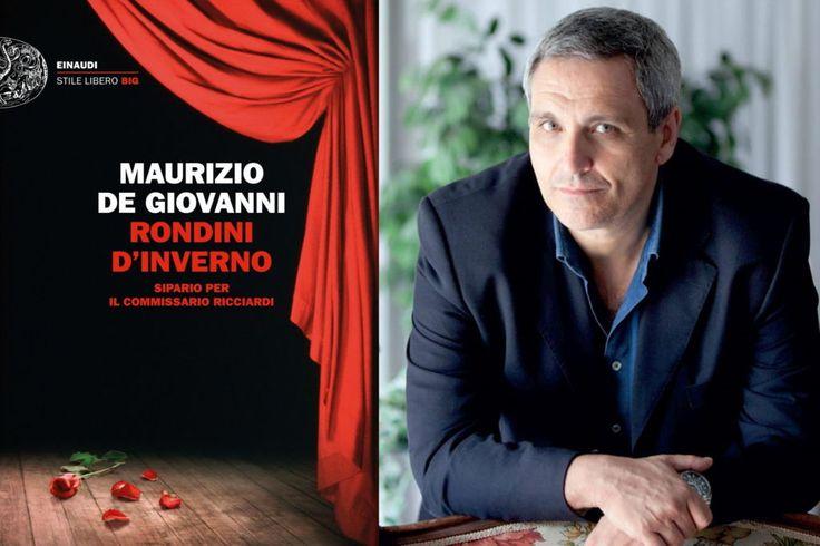 Giallo a Foligno ma col romanzo di Maurizio De Giovanni Rondini d'inverno
