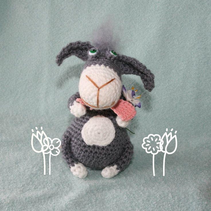 Free Crochet Pattern Donkey Hat : 73 best images about Donkeys to Crochet on Pinterest ...