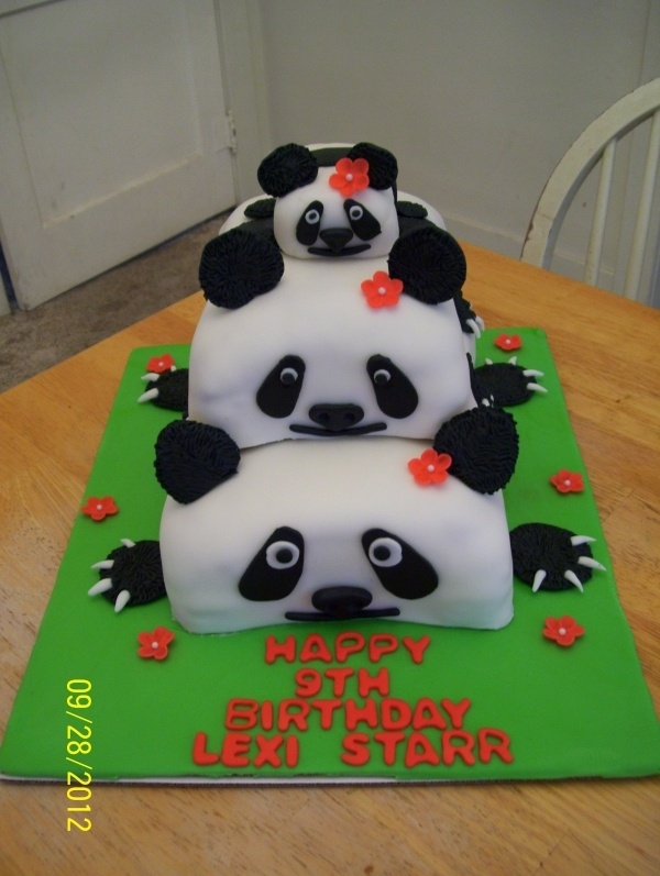 panda bear cake template - 190 best awesome cakes images on pinterest descendants