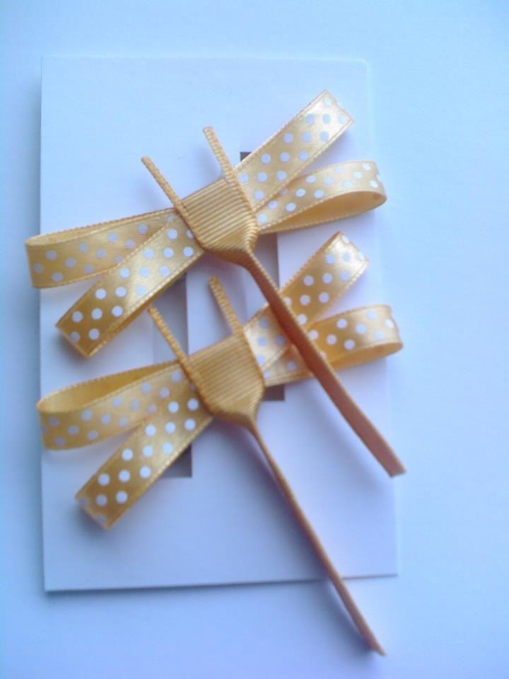 Diseño Original y divertido Libelulas Amarillas