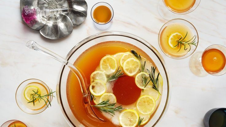 Turn this punch recipe up a notch with a decorative ice ring. Learn our tricks on <a href=
