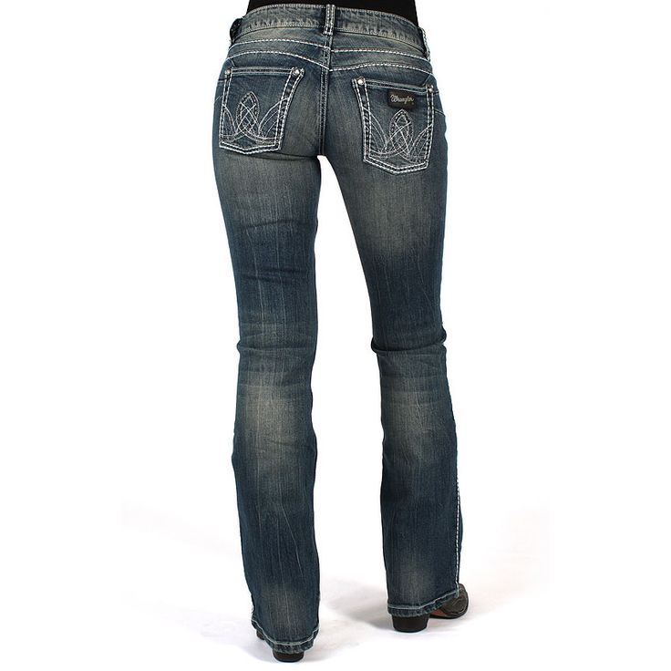 Wrangler Women's Premium Patch Booty Up Jeans