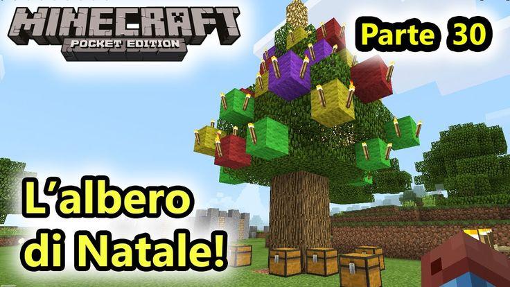 Minecraft PE - L'albero di NATALE! e download mappa - Android - (Salvo P...