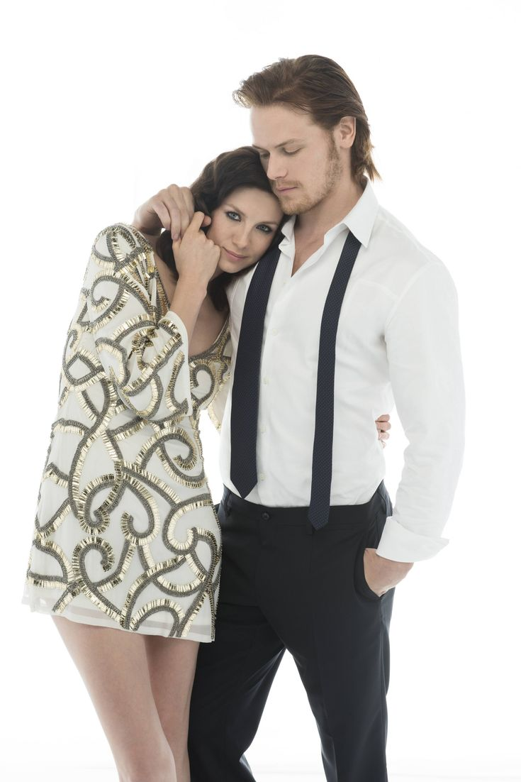 Caitriona Balfe & Sam Heughan from Outlander.