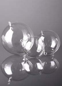 Glass Decorative Hanging Balls - 60mm - Set of 6
