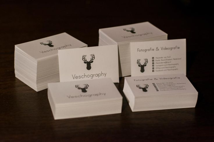 #Visitekaartjes - Veschography - Fotografie en Videografie | Uploaded by Drukwerkdeal.nl