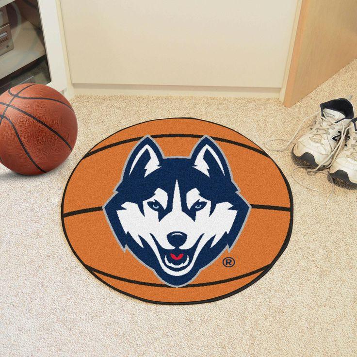 University of Connecticut Basketball Mat 27 diameter