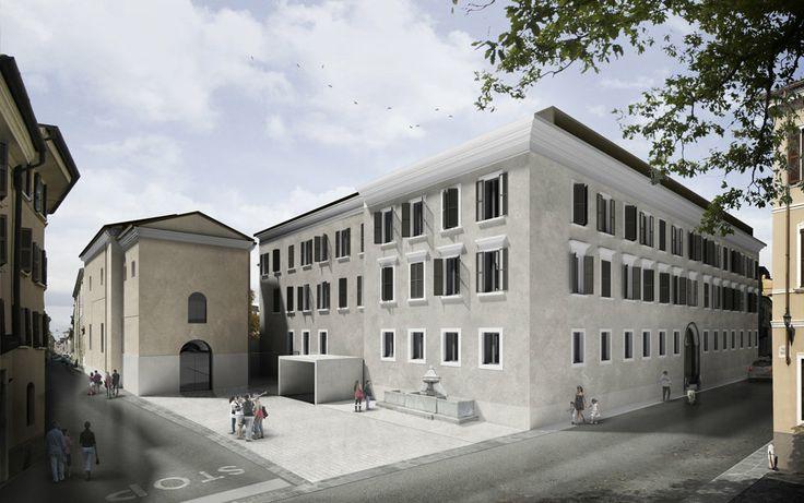 ABDArchitetti + Studio Sangalli . Reconversion of Gnutti barracks . Italy, 2013
