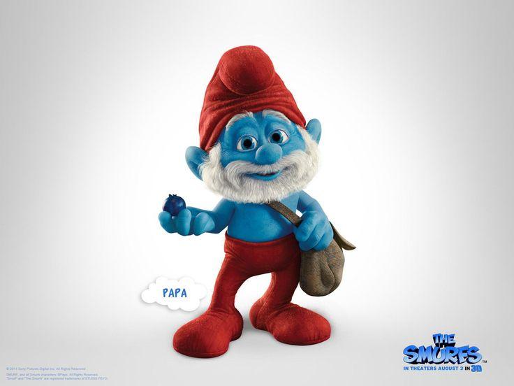 os smurfs 2 3d 1080p
