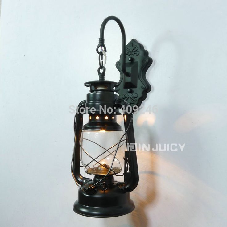 2015 Fashion Vintage Personalized Kerosene Light LED Wall Lamp Lantern Iron Black/Copper/Bronze E27 Bulb  Decor Lighting-in LED Indoor Wall Lamps from Lights & Lighting on Aliexpress.com   Alibaba Group