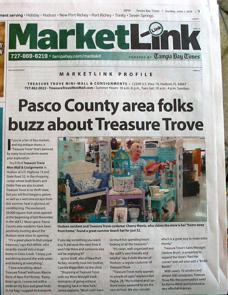 Last Sunday Newspaper Ad In Tampa Bay Times, My Booth In Photo. Awesome! Shabby  Chic ...