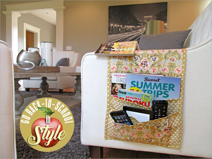 Five-Pocket+Sofa+Arm+(&+More)+Caddy:+Go+Back-to-School+in+Style