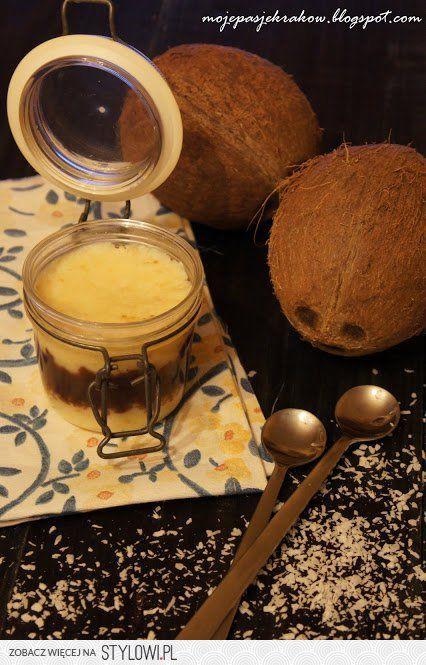 """Krem """"bounty"""" kokosowo-czekoladowy"""