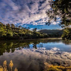 Cotter River, Canberra, Australia.