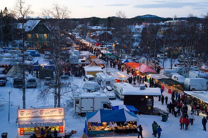JANUARY: Sami Lapland: Winter fair, Jokkmokk, Norrbotten, Sweden