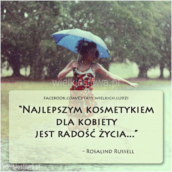 Najlepszym kosmetykiem dla kobiety... #Russell-Rosalind, #Kobieta, #Radość…
