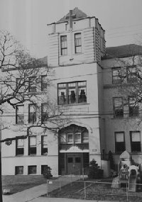 St. Patrick's school (now closed and being made into Senior Citizen housing)