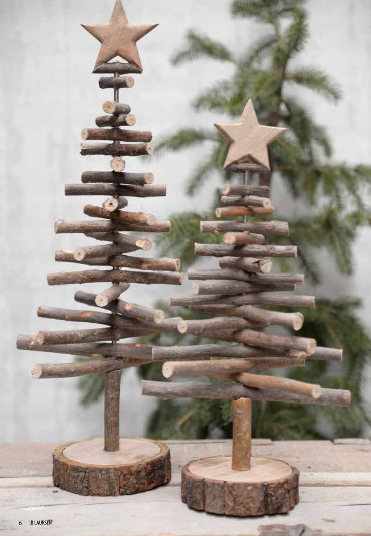 twig Christmas trees - Crafting Lifestyle