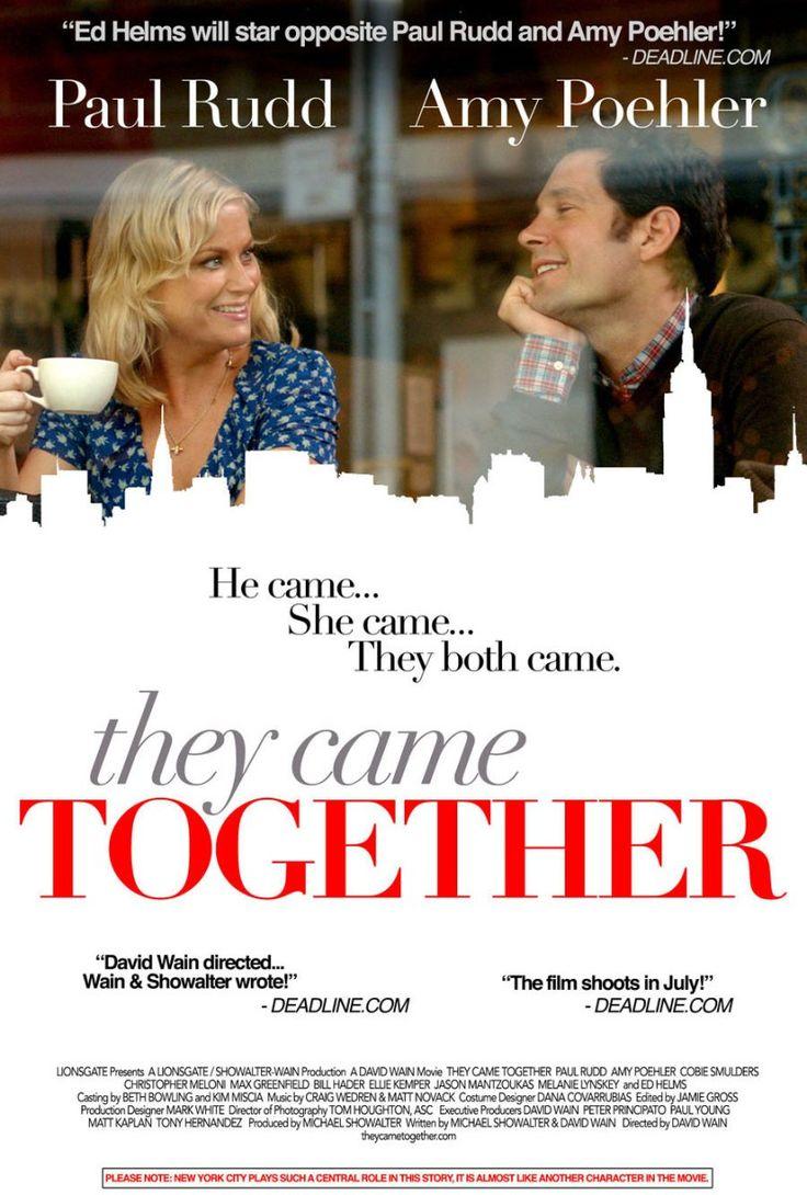 ¿Venís juntos? es una parodia de todas las comedias románticas que hemos visto de toda la vida. Es una mezcla de todas las pelis de Meg Ryan mezcladas con el humor absurdo creado por Amy Poehler y …