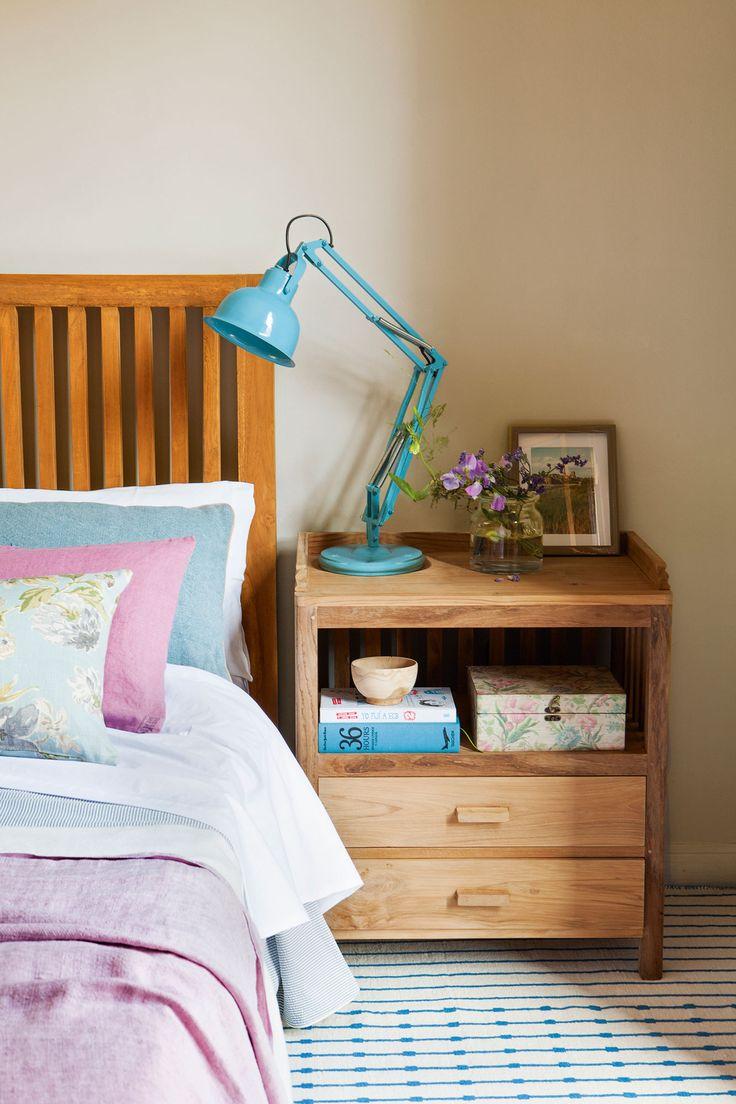 17 mejores ideas sobre cabecero azul en pinterest - Lampara lectura cama ...