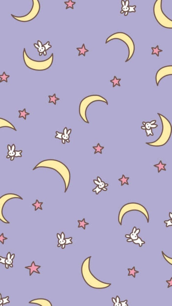 Soft Sailor Moon Wallpaper Sailor Moon Background Cute Patterns Wallpaper