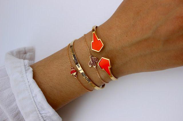 Inspiration de bracelets chez Box bazar, avec l'arrivée des beaux jours ! #AnneThomas